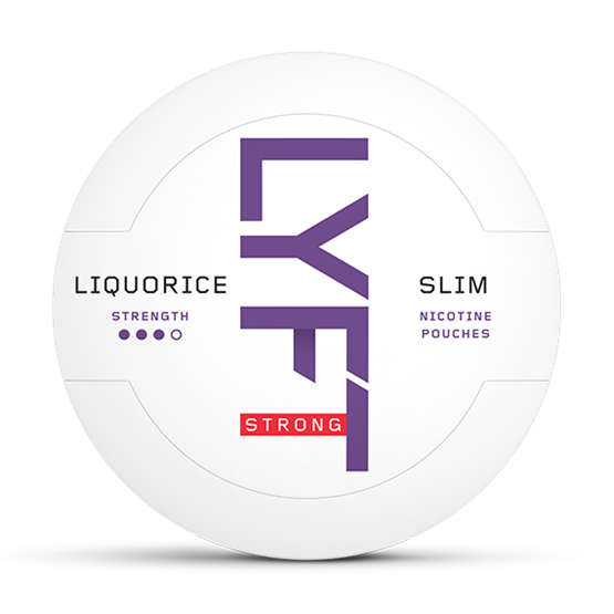 LYFT Liquorice Slim All White Portion