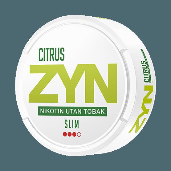 ZYN slim citrus strong