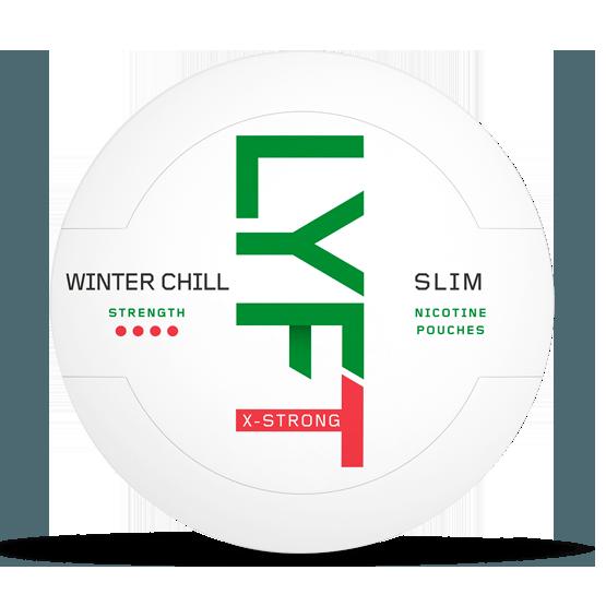 LYFT Winter Chill all white portion