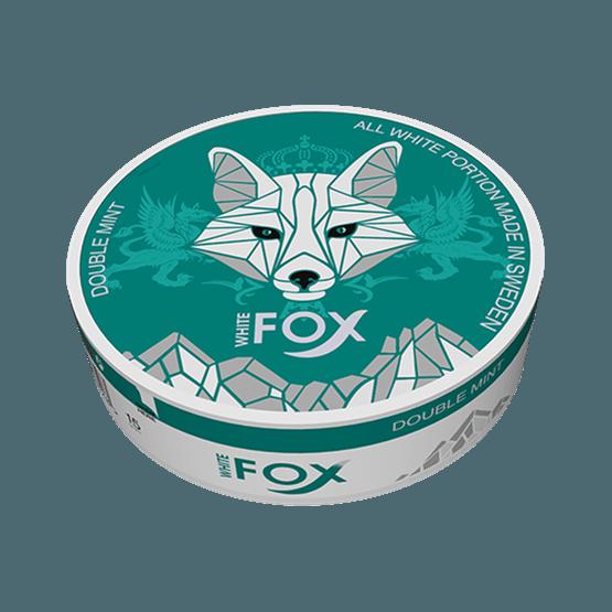 White Fox Double Mint Slim All White Portion