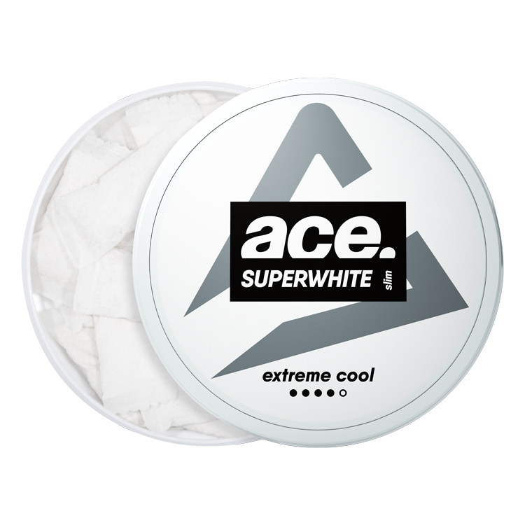 ACE Extreme Cool All White Pouch