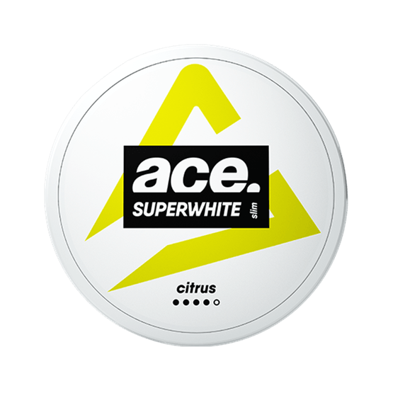 ACE Citrus All White Pouch