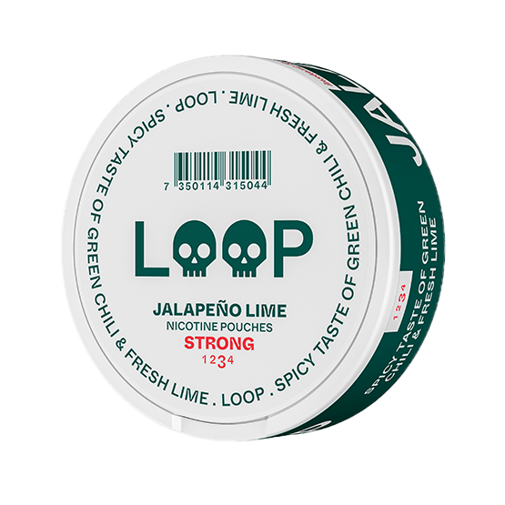 Loop Jalapeno Lime Strong Slim Portion