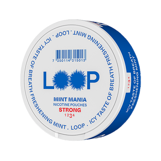 Loop Mint Mania Slim Strong Portion