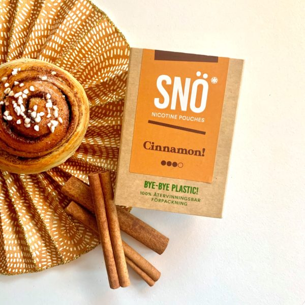 Snö Cinnamon nicotine pouch