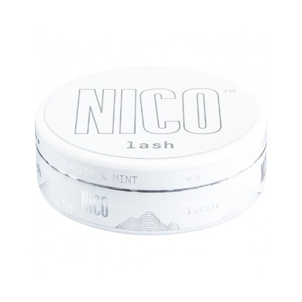 NICO Lash Glacier X Mint Ultra Strong Nicotine Pouches