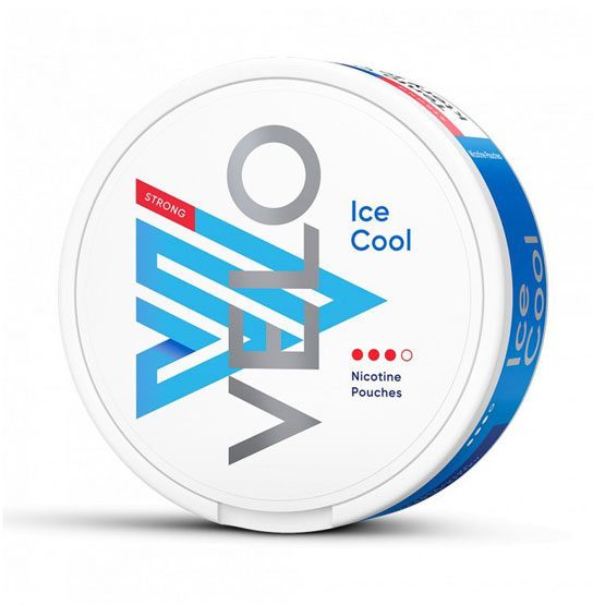 VELO Ice Cool All White Portion Strong