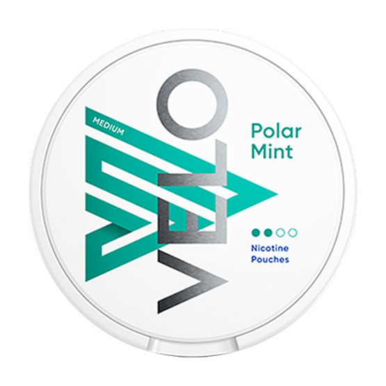 VELO Polar Mint All White Portion Medium