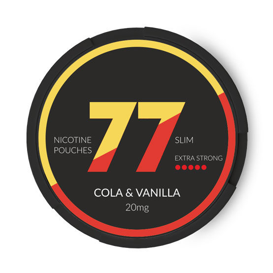 77 Cola & Vanilla All White Slim Portion 20 mg/g