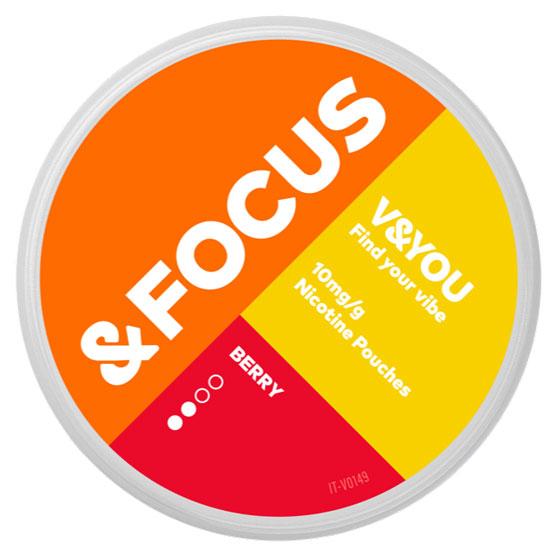 V&YOU Focus Berry 10 mg