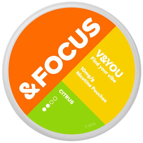 V&YOU Focus Citrus 10 mg
