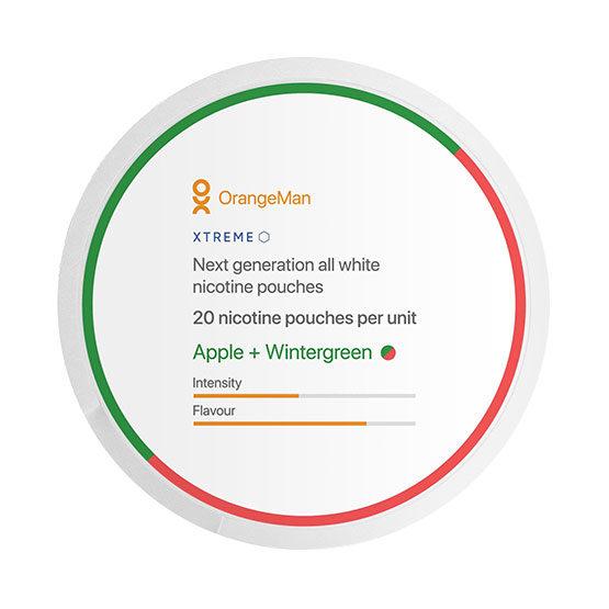 OrangeMan Apple Wintergreen - Xtreme