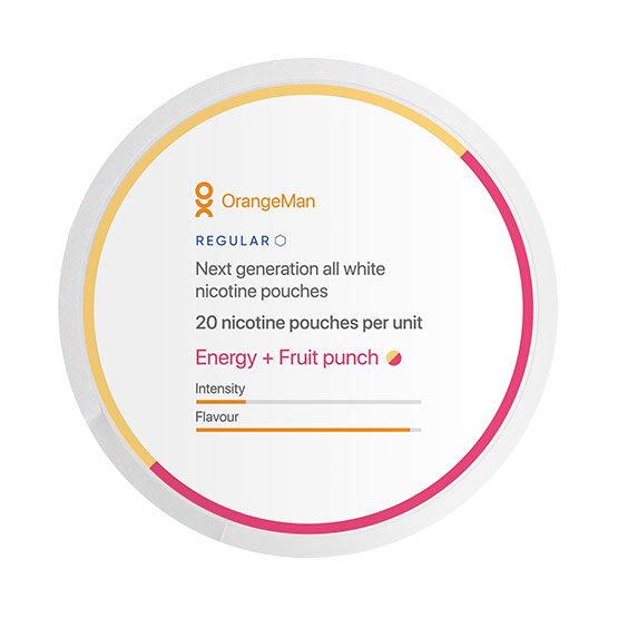 OrangeMan Energy Fruit Punsch - Regular