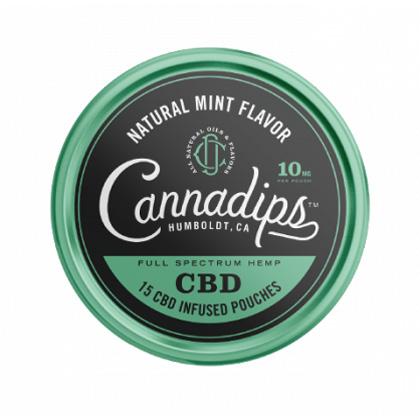 Cannadips Natural Mint